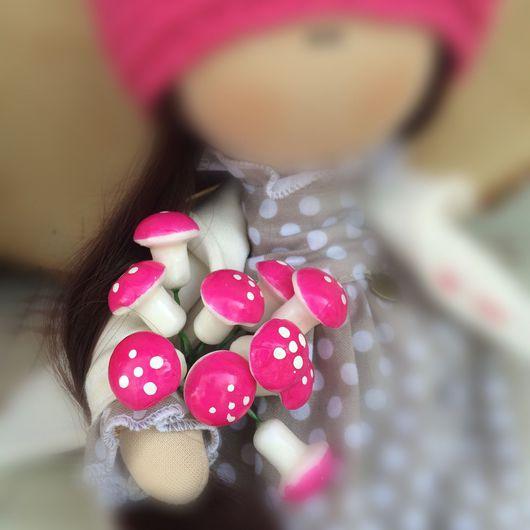 Куклы и игрушки ручной работы. Ярмарка Мастеров - ручная работа. Купить Грибочки. Handmade. Сумка, Аксессуары handmade, аксессуар для кукол