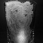 Посуда handmade. Livemaster - original item Beer mug King of Beasts. Handmade.