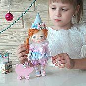 Мягкие игрушки ручной работы. Ярмарка Мастеров - ручная работа Кукла клоунесса Тая. Handmade.