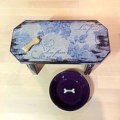 Для дома и интерьера ручной работы. Ярмарка Мастеров - ручная работа Стул интерьерный / подставка под миску. Handmade.