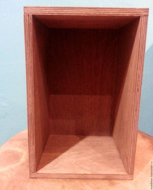 Корзины, коробы ручной работы. Ярмарка Мастеров - ручная работа. Купить Деревянный ящик 25х16х13 см. Handmade. Ящик