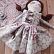 """Коллекционные куклы ручной работы. """"Шоколадная глазурь"""" - кукла, ручной работы.. SharmGallery.... Ярмарка Мастеров. Нежный подарок, тряпичная кукла"""