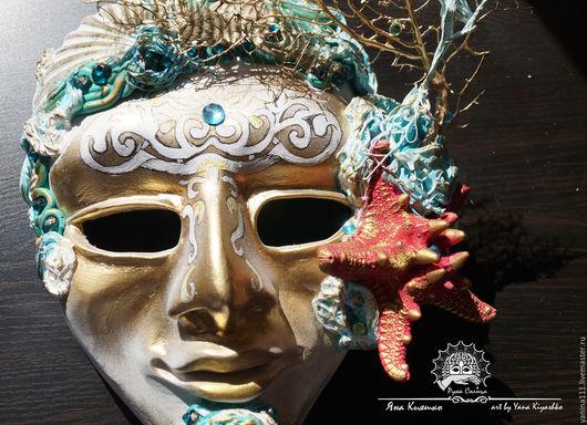 """Интерьерные  маски ручной работы. Ярмарка Мастеров - ручная работа. Купить """"Ангел Бриза морского"""" (маска фантазийная). Handmade."""