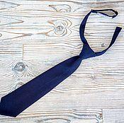 Аксессуары handmade. Livemaster - original item Children`s bow tie dark blue. Handmade.