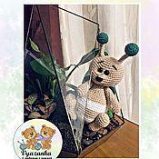 Мягкие игрушки ручной работы. Ярмарка Мастеров - ручная работа Мягкие игрушки: Шмель Жорж. Handmade.