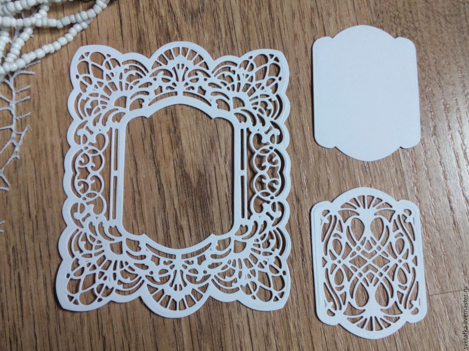 Cutting for scrapbooking -WESELNA FRAME and TAG, cardboard design ...