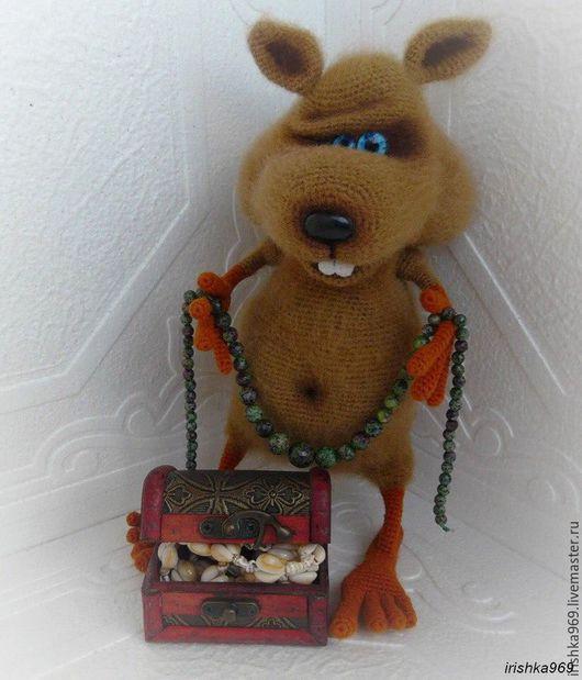 Игрушки животные, ручной работы. Ярмарка Мастеров - ручная работа. Купить Хомяк Хомочка. Handmade. Хомяк, игрушка в подарок