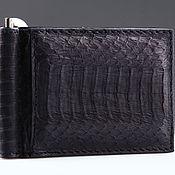 Сумки и аксессуары handmade. Livemaster - original item Python leather clip IMP0024B1. Handmade.