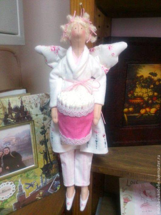 Куклы Тильды ручной работы. Ярмарка Мастеров - ручная работа. Купить Банный ангел. Кукла Тильда.. Handmade. Бежевый