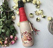 Сувениры и подарки ручной работы. Ярмарка Мастеров - ручная работа Шампанское Ангелы Весны 0.375 л. Handmade.