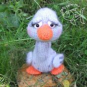 Материалы для творчества handmade. Livemaster - original item MK knitting duck. Handmade.