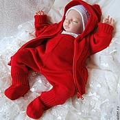 """Работы для детей, ручной работы. Ярмарка Мастеров - ручная работа Красный костюм """"Маленький чемпион"""". Handmade."""