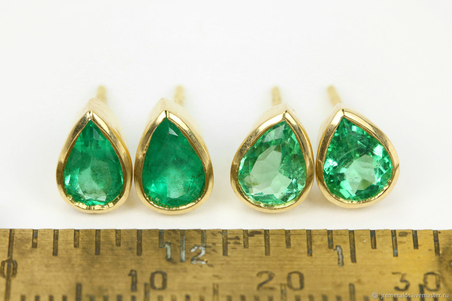stud carat weight earrings green white emerald products chillatto gold