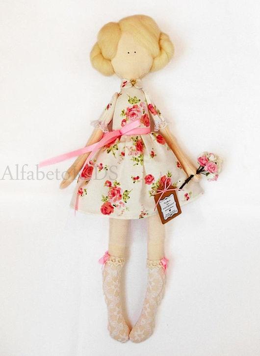 Человечки ручной работы. Ярмарка Мастеров - ручная работа. Купить Кукла. Handmade. Кукла, тильда, романтика, девочке, хлопок, кружево