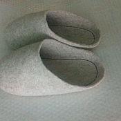 Обувь ручной работы handmade. Livemaster - original item felted Slippers. Slippers. Wool sneaker.. Handmade.