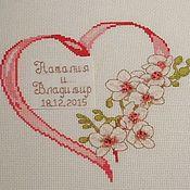 """Свадебная метрика """"Цветы в сердце!"""