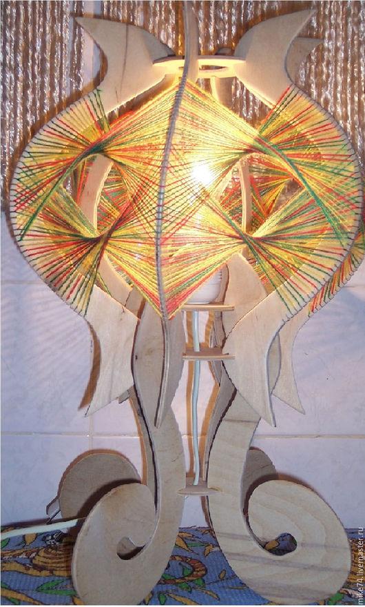 Освещение ручной работы. Ярмарка Мастеров - ручная работа. Купить Настольная лампа (бра). Handmade. Настольная лампа- бра, провод
