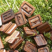 Фен-шуй и эзотерика ручной работы. Ярмарка Мастеров - ручная работа Руны из дерева. Handmade.