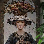 """Картины и панно ручной работы. Ярмарка Мастеров - ручная работа картина маслом """" Окно в прошлое"""". Handmade."""