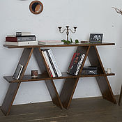 Для дома и интерьера handmade. Livemaster - original item Table console with shelf. Handmade.