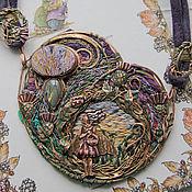 """Украшения ручной работы. Ярмарка Мастеров - ручная работа """"The Thistle Fairy"""" колье. Handmade."""