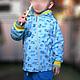 """Одежда для мальчиков, ручной работы. Комплект для прогулок """"Юный механик"""". Миронушка     (Виктория Супрун). Ярмарка Мастеров. Аппликация из ткани, кулирка"""