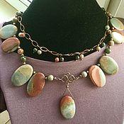 Работы для детей, handmade. Livemaster - original item Beads: necklace of natural Beauty. Handmade.