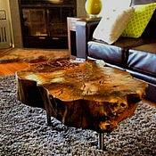 Для дома и интерьера ручной работы. Ярмарка Мастеров - ручная работа Журнальный столик из массива. Handmade.