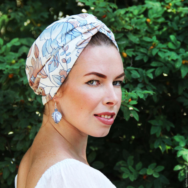 Летние повязки на голову для женщин своими руками