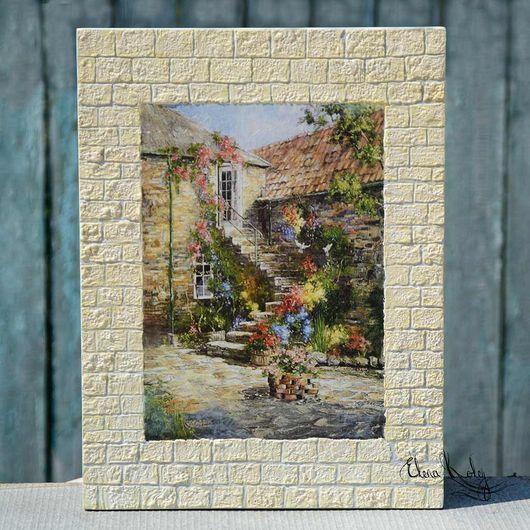 панно настенное, панн деревянное, панно Италия, панн ручной работы, панно средиземноморье