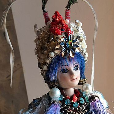 Куклы и игрушки ручной работы. Ярмарка Мастеров - ручная работа DeAgostini Sohki The Kirin Beijing opera doll OOAK. Handmade.