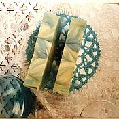 """Косметика ручной работы. Ярмарка Мастеров - ручная работа Мыло с нуля """"Ландыш"""", масло ши. Handmade."""