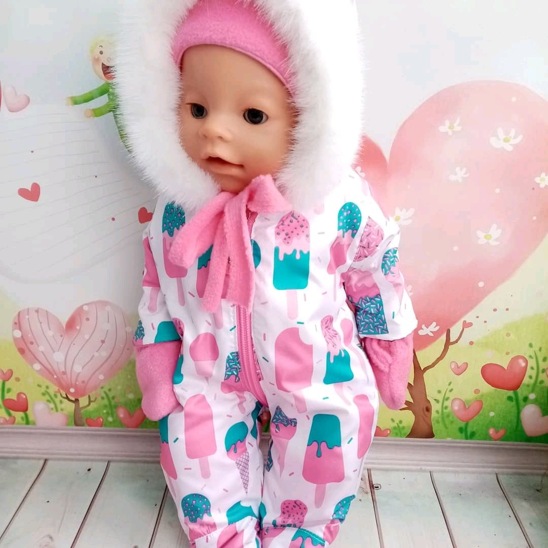 Комбез  для куклы Беби Бон и аналогов, Одежда для кукол, Кимры,  Фото №1