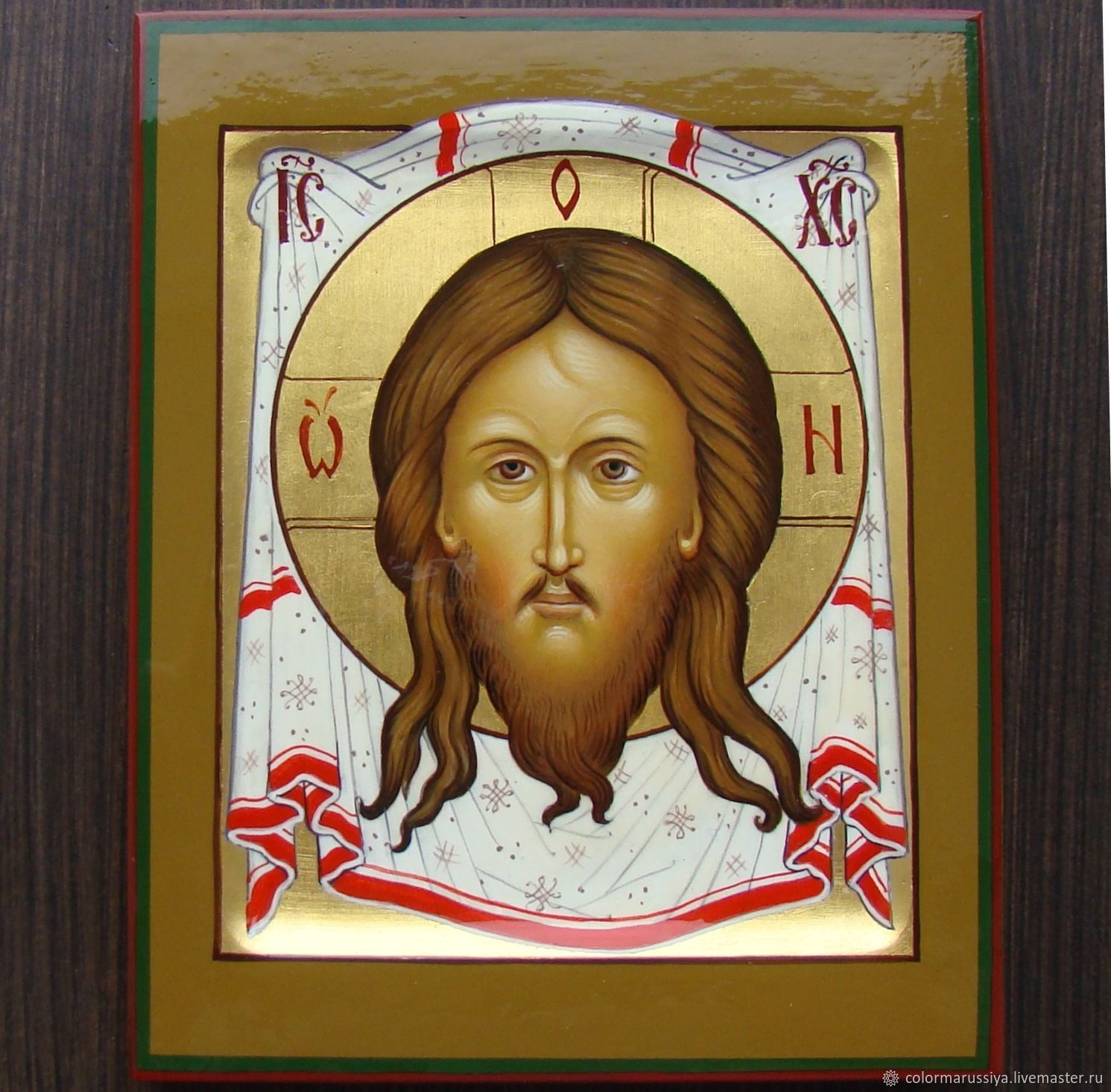 Icon of the Saviour not made with hands (handwritten), Icons, Vyazniki,  Фото №1