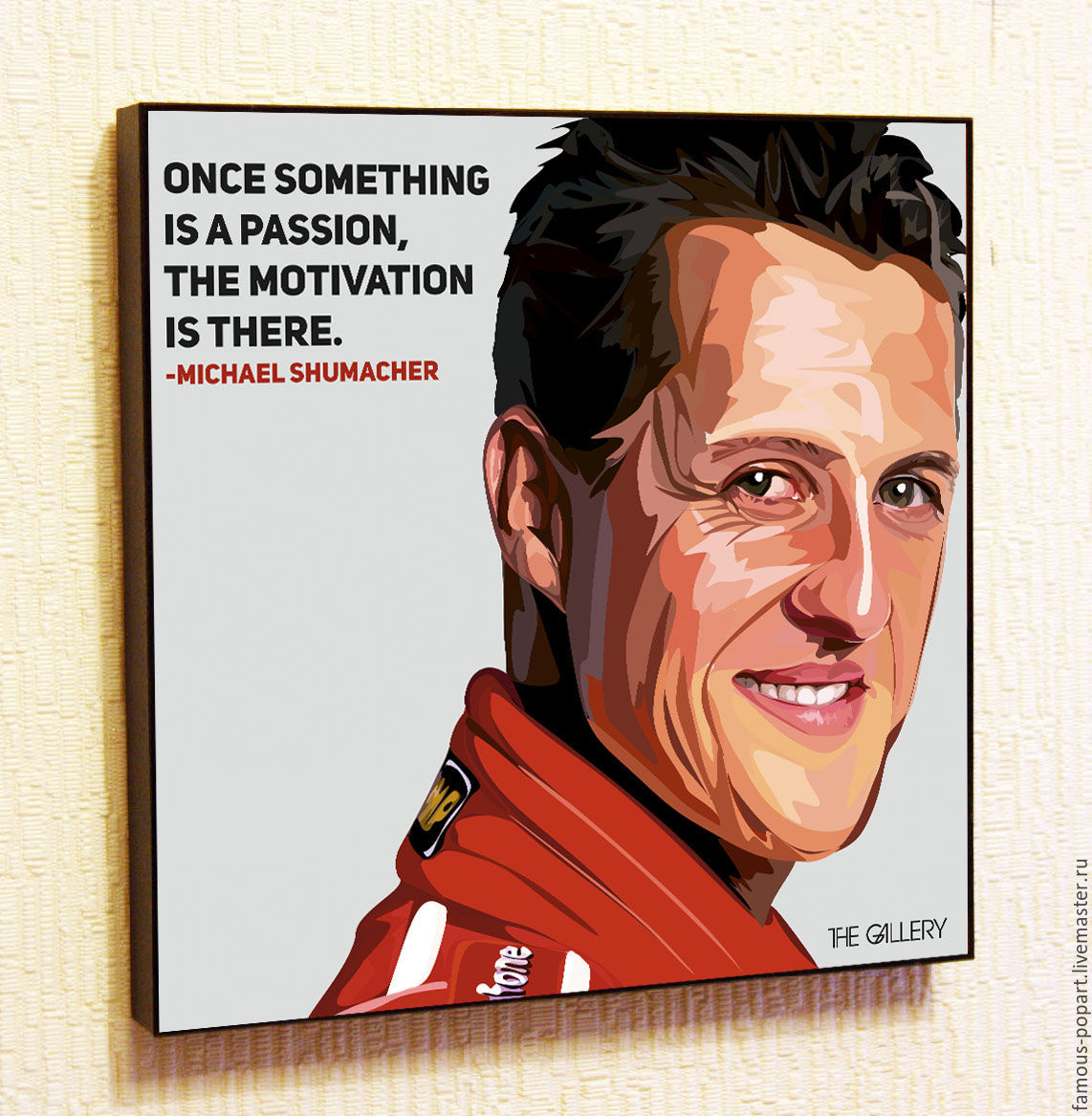 Painting Pop Art Michael Schumacher, Pictures, Moscow,  Фото №1