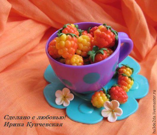 Для украшений ручной работы. Ярмарка Мастеров - ручная работа. Купить Морошка бусины ягоды. Handmade. Оранжевый, бусины для браслетов