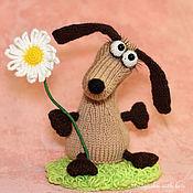 Куклы и игрушки ручной работы. Ярмарка Мастеров - ручная работа Собака - Такса Гретта (игрушка щенок, собачка). Handmade.