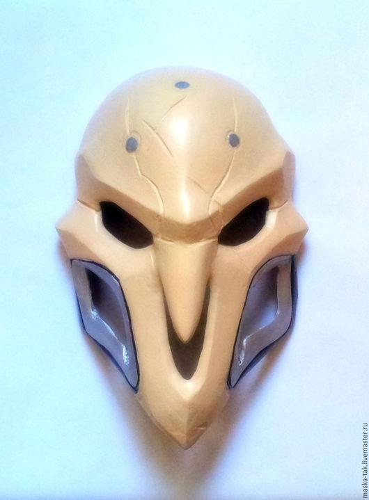 Персональные подарки ручной работы. Ярмарка Мастеров - ручная работа. Купить Маска Риппера (Reaper) из Overwatch. Handmade. Бежевый, reaper