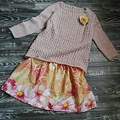 """Одежда ручной работы. Ярмарка Мастеров - ручная работа Пуловер """"Нежность"""". Handmade."""