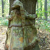 Одежда handmade. Livemaster - original item Felted coat Spirits of the forest. Handmade.