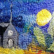 """Сумки и аксессуары ручной работы. Ярмарка Мастеров - ручная работа Сумка-пакет """"Ночь чудес"""". Handmade."""