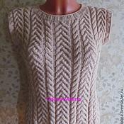 Одежда handmade. Livemaster - original item Vest - tank top