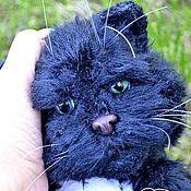 Куклы и игрушки ручной работы. Ярмарка Мастеров - ручная работа Булгаковский кот Бегемот. Handmade.
