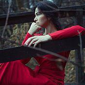 """Одежда ручной работы. Ярмарка Мастеров - ручная работа Платье """"Lady In Red"""". Handmade."""