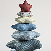 Подарки к праздникам handmade. Livemaster - original item Christmas tree made of patchwork fabric. Handmade.