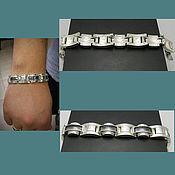 Украшения handmade. Livemaster - original item Bracelet large. Silver bracelet men`s. Bracelet unisex.. Handmade.