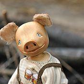 Куклы и игрушки handmade. Livemaster - original item Pig Tew. Handmade.