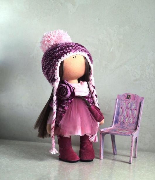 Коллекционные куклы ручной работы. Ярмарка Мастеров - ручная работа. Купить Пиончик. Handmade. Кукла ручной работы, пион, хлопок