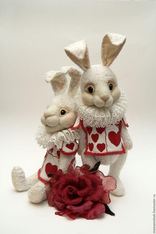 Игрушки животные, ручной работы. Ярмарка Мастеров - ручная работа. Купить Белый кролик. Handmade. Белый, авторская работа