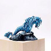 Для дома и интерьера ручной работы. Ярмарка Мастеров - ручная работа Интерьерное украшение фигурка Келпи водяная лошадь. Handmade.